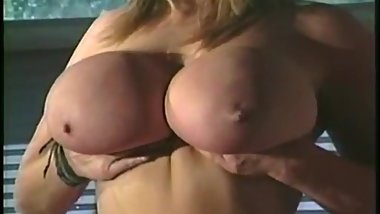Rare Vid of Rhonda Baxter's and Mishka's Classic Boobs!!!