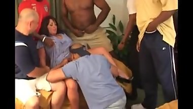 Five Black Cocks for a Hotwife