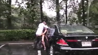 Old People Fucking In the Rain