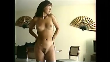Sexy Shy MILF Gets Out Of The Shower and Struts Around Naked