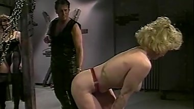 Betrayed (1998) Hank Armstrong & Anna Malle in B/D fetish flick