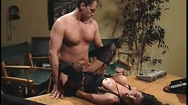 Hank Armstrong, Anna Malle very hot scene from Heavy Breathing(1996)