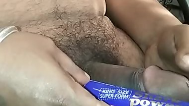 Indian Busty Miss Randi Hand Jobs Jarking Of His Cock Cum In Hand or Thumb