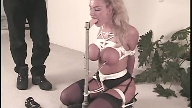 NSFW Very Intense Severe Bondage and Deepthroat Blowjob Training