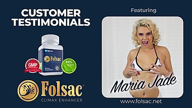 Folsac supplement Customer Reviews - Toe Curling Ejaculations!  Part 2
