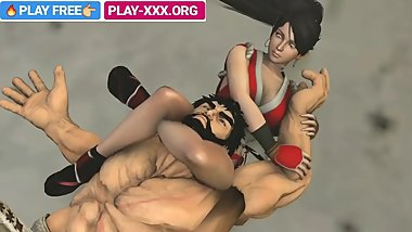 HENTAI GIRL KICKBOXING IN 3D ADULT GAMES