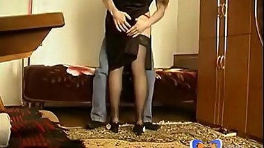 Whore Russian Stepmom Loves Homemade Sex [Full: www.vintagepornbay.com]