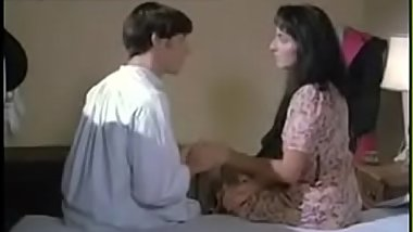 vintage son and mom in stockings taboo sex affair--Thefamilysextube.com