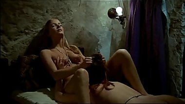 Hot Lesbian Cult - In The Sign of The Virgin (1973) Sex Scene 1