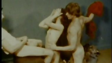 Vintage: Acrobatic Threesome