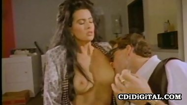 Raven - 80s Pornstar Serving A Good Blowjob