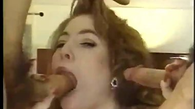 Vintage Sucking and Fucking Two Cocks