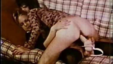 Vintage Dildo Fun Leads To Foursome