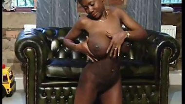 Cindy-black girl lactating