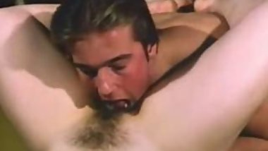 Vintage hairy pussy licking