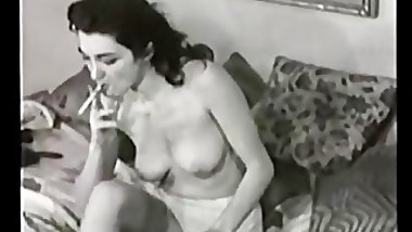 Vintage Cigarette Smoking Babes