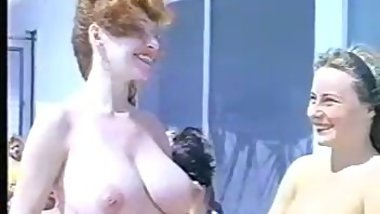 Nudist camp , amateur mature huge boobs