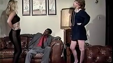 Charlie Waters, Viper, Tony El-Ay in interracial 1970 porn