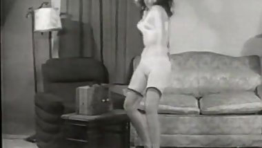 Dancing is Best Done in Lingerie (1950s Vintage)