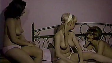 Watching Nude Girls Through the Window (1960s Vintage)