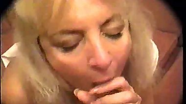 #homemademature - friend's wife quick suck off with cum
