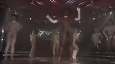 sexy girls group nude disco dance seventies