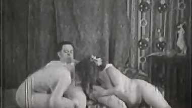 Maid Helps Older Couple Have Sex (1930s Vintage)