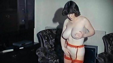 JUST WISHING - vintage 80's big tits striptease dance