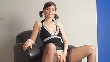 Kirsty Blue Masturbates With Her Panties On