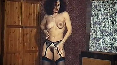 STACY'S MOM - vintage mature stockings striptease dance