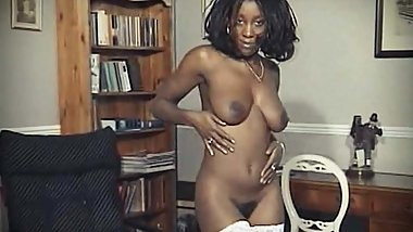 WALK ON BY - vintage British ebony striptease