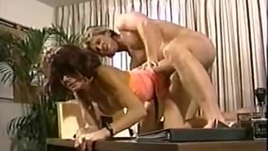 Vintage office sex
