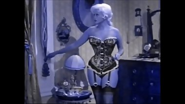 Jayne Mansfield in Lingerie and Nylons (Recolored)