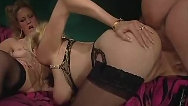 French Vintage Lou Valmont Saggy Tits Assfuck Stockings