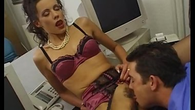 Estelle Desanges fucked in office