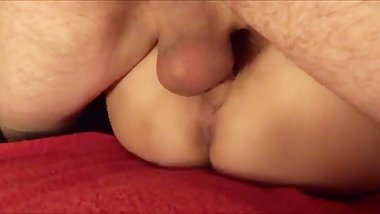 My friend fucks my wife and cums in her